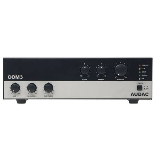 Audac COM 3 ELA-Mischverstärker 30 W