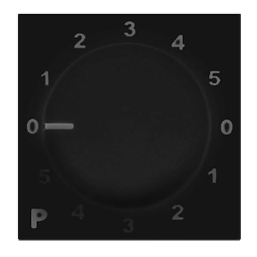 Audac PC 3000 B Wand-Programmwahlknopf