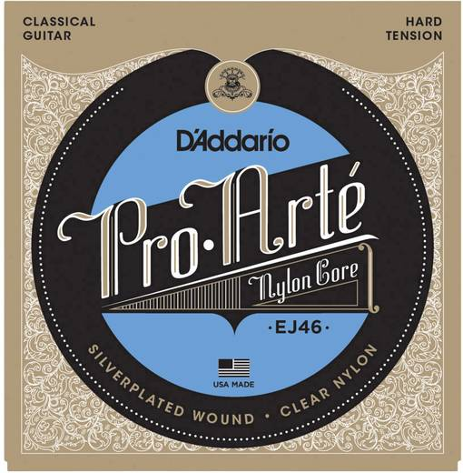 Konzertgitarrensaite D´Addario EJ46 Hard Tension 028-044