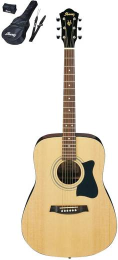 Westerngitarren-Set Ibanez V50NJP-NT 4/4 Natur inkl. Tasche