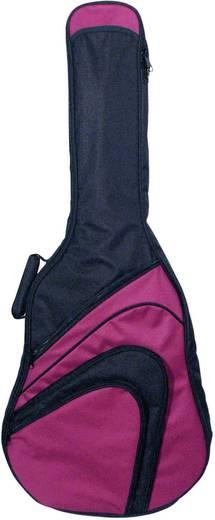 Jugendgitarrentasche 3/4 Größe MSA Musikinstrumente GB 170 Schwarz, Rot