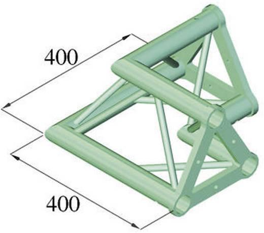 3-Punkt Traverse Ecke 90 ° Alutruss TRISYSTEM PAC-21
