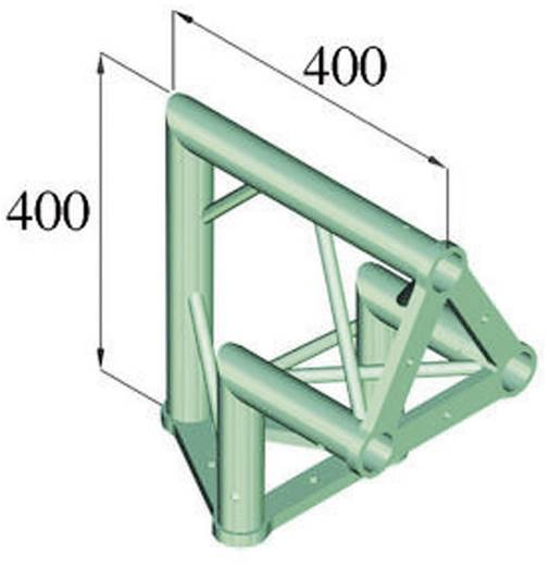 3-Punkt Traverse Ecke 90 ° Alutruss TRISYSTEM PAC-24