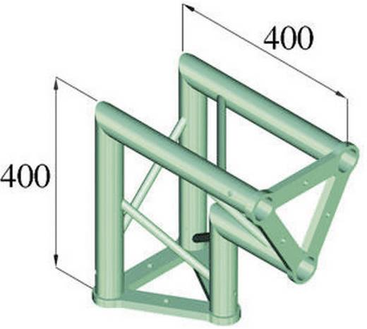 3-Punkt Traverse Ecke 90 ° Alutruss TRISYSTEM PAC-25