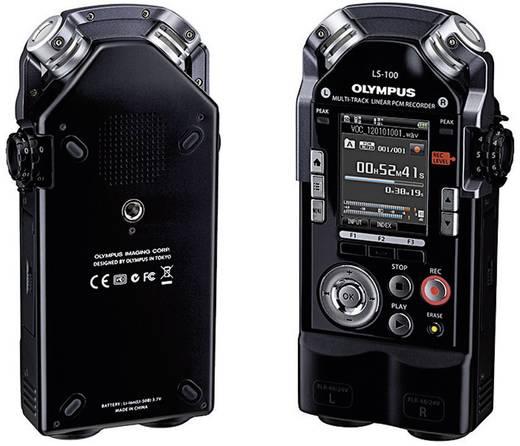 Mobiler Audio-Recorder Olympus LS-100 Schwarz