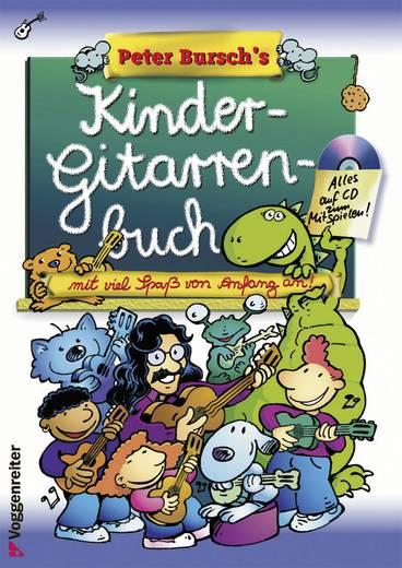 Musik-Lernbuch Voggenreiter Kindergitarrenbuch inkl. Lieder-CD