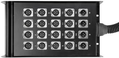 Cavo Multicore 50 m AH Cables K20C50 16/4 50 M Numero di ingressi:16 x Num. uscite:4 x