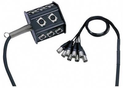 Cavo Multicore 15 m AH Cables K8C15P 8/0 15 M Numero di ingressi:8 x