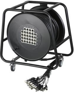 Enrouleur de câble multicore AH Cables K28C30D 24/4 30 M Nombre d'entrées: 24 x Nbr. de sorties: 4 x