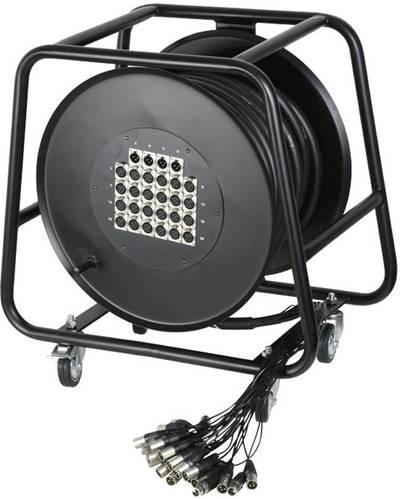 Avvolgicavo Multicore 30 m AH Cables K28C30D 24/4 30 M Numero di ingressi:24 x Num. uscite:4 x