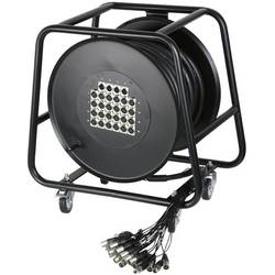 Image of AH Cables K28C30D Multicore Kabeltrommel 30.00 m Anzahl Eingänge:24 x Anzahl Ausgänge:4 x
