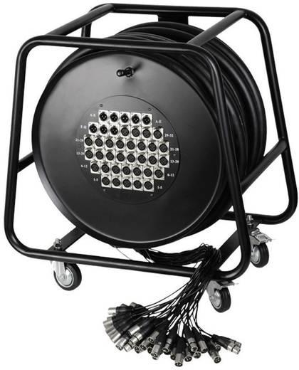 Multicore Kabeltrommel 50 m AH Cables K40C50D 32/8 50 M Anzahl Eingänge:32 x Anzahl Ausgänge:8 x