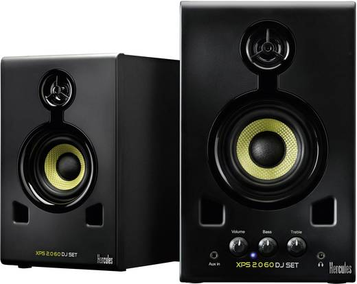 Aktiver Monitor-Lautsprecher 7.5 cm 3 Zoll Hercules XPS 20-60 30 W 1 Paar