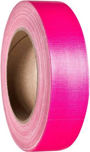 Adam Hall 58065NPIN Gewebeklebeband Neon-Pink (L x B) 25 m x 38 mm 1 St.