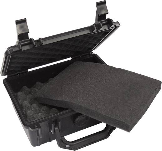 Gerätekoffer Schutzkoffer S (L x B x H) 210 x 167 x 90 mm