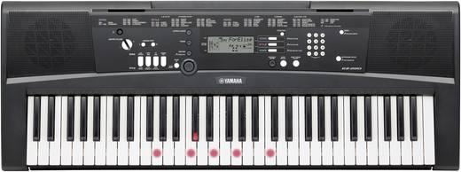 Leuchttasten-Keyboard Yamaha EZ-220 Schwarz inkl. Netzteil
