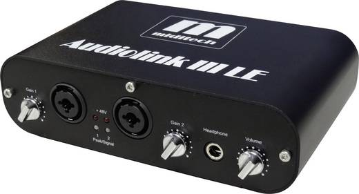 Audio Interface MidiTech Audiolink III inkl. Software