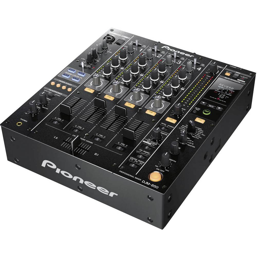 tables de mixage dj pioneer dj djm 850 k. Black Bedroom Furniture Sets. Home Design Ideas