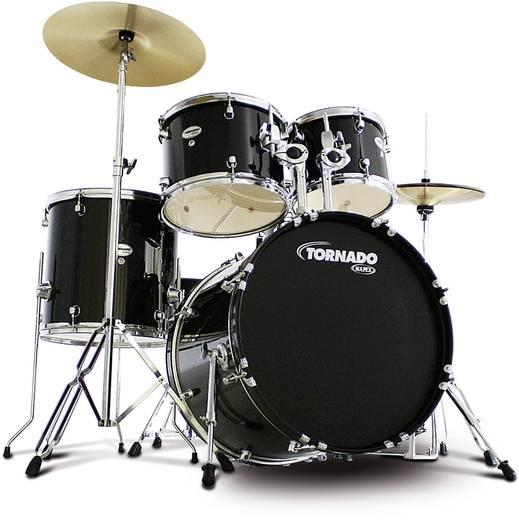 Schlagzeug Mapex M5044TC Schwarz inkl. Becken, inkl. Fußmaschine