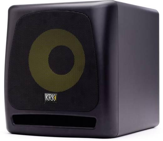 aktiver pa subwoofer 25 cm 10 zoll krk systems kk10s 110 w. Black Bedroom Furniture Sets. Home Design Ideas