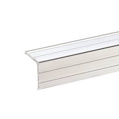 Protezione dei bordi (L x L x A) 1 m x 20 mm x 20 mm Alluminio Adam Hall 6209 1 pz.