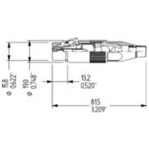 XLR-Stecker Amphenol Audio Connectors AC3F
