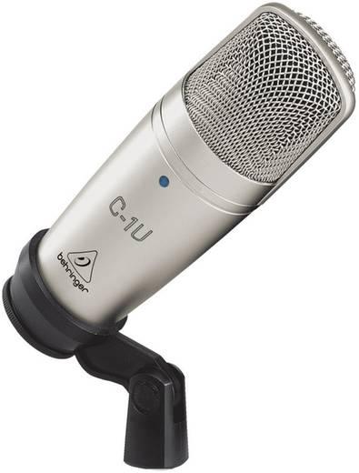 USB-Studiomikrofon Behringer C-1U Kabelgebunden inkl. Klammer, inkl. Kabel
