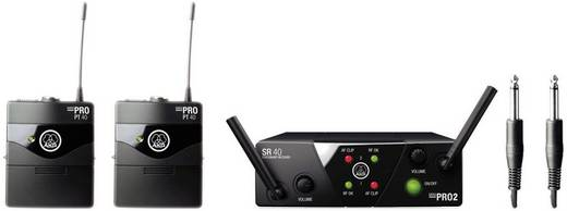 Gitarren-Funksystem AKG WMS40MiniDual Übertragungsart:Funk
