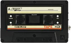 Image of Audio-Recorder Reloop Tape Schwarz/Weiß