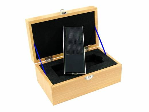 Studiomikrofon Omnitronic VRM-1100 PRO Übertragungsart:Kabelgebunden inkl. Koffer, inkl Spinne