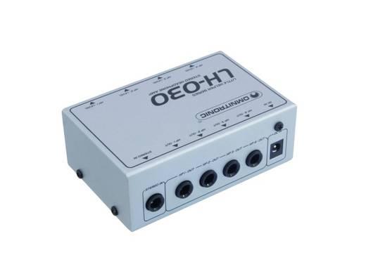 Omnitronic LH-030 Kopfhörerverstärker Weiß