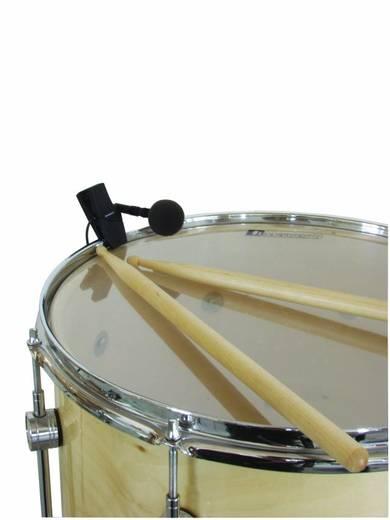 Ansteck Instrumenten-Mikrofon Omnitronic DPM-1000 PRO Übertragungsart:Kabelgebunden inkl. Windschutz