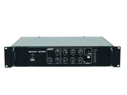 ELA-Verstärker Omnitronic MP-250 250 W