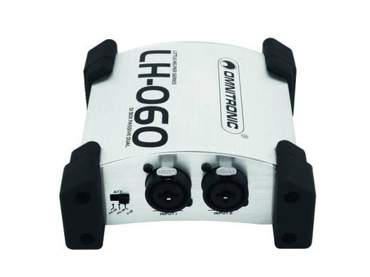 Passive DI Box 2-Kanal Omnitronic LH-060 Dual-Pro Passive