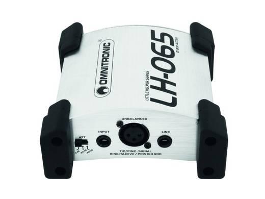 Aktive DI Box 1-Kanal Omnitronic LH-065 active