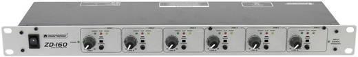 19 Zoll Mischpult Omnitronic ZD-160 Anzahl Kanäle:6