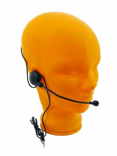 Headset Sprach-Mikrofon Omnitronic TM-250 Übertragungsart:Funk