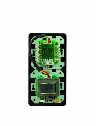 Omnitronic Einbau ELA-Lautstärkeregler und -Programmwähler Schwarz