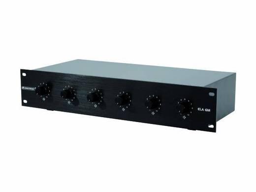 Omnitronic ELA 6M-Zonen LS-Regler 10W sw