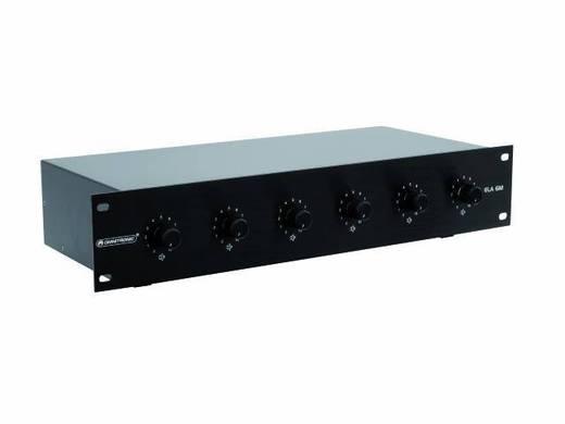 Omnitronic ELA 6M-Zonen LS-Regler 45W sw