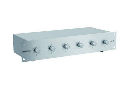 Omnitronic ELA 6M-Zonen LS-Regler 10W si
