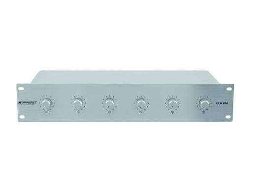 Omnitronic ELA 6M-Zonen LS-Regler 30W si