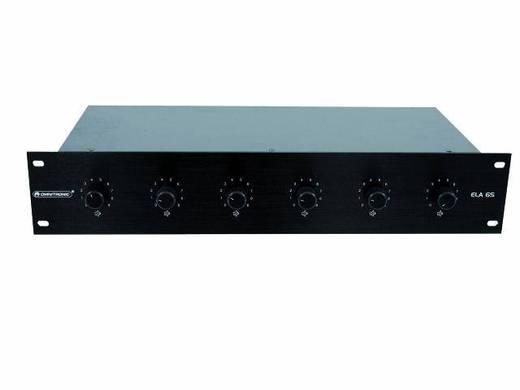 Omnitronic ELA 6S-Zonen LS-Regler 45W sw