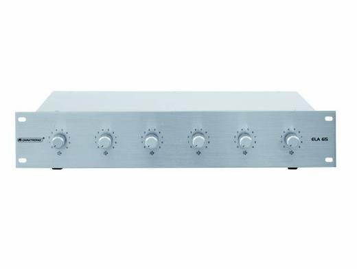 Omnitronic ELA 6S-Zonen LS-Regler 5W si