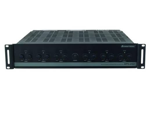 ELA-Verstärker Omnitronic MPS-1250 50 W 12-Kanal 6-Zonen