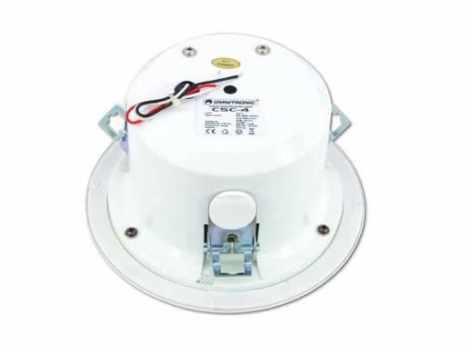 Einbaulautsprecher Omnitronic CSC-4 6 W 100 V Weiß 1 St.