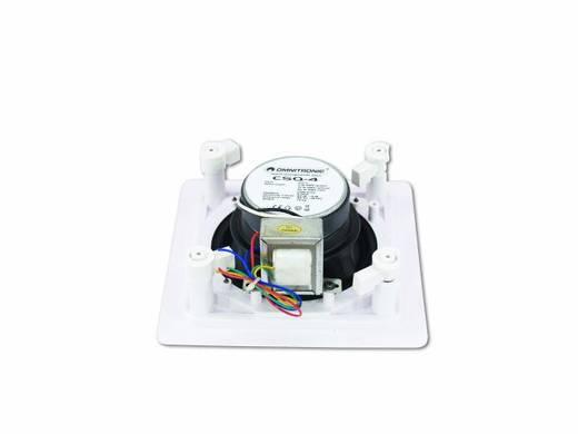 Einbaulautsprecher Omnitronic CSQ-4 20 W 100 V Weiß 1 St.