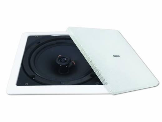 Einbaulautsprecher Omnitronic CSQ-6 40 W 100 V Weiß 1 St.