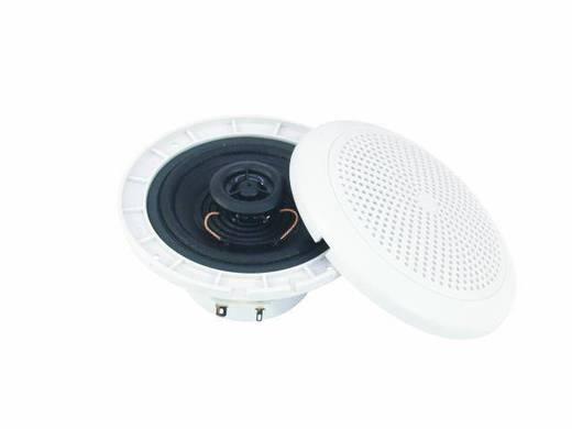 Omnitronic WF-4 Einbaulautsprecher 40 W 8 Ω Weiß 1 St.