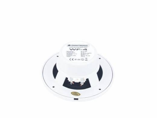 Einbaulautsprecher Omnitronic WF-4 40 W 8 Ω Weiß 1 St.